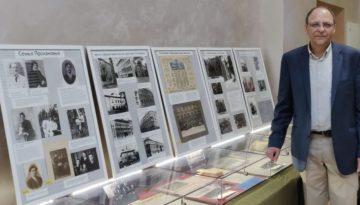 Выставка о жизни и деятельности И.С.Проханова проходит в офисе миссии «Уиклиф»